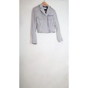 Rag & Bone khaki beige military crop jacket 2